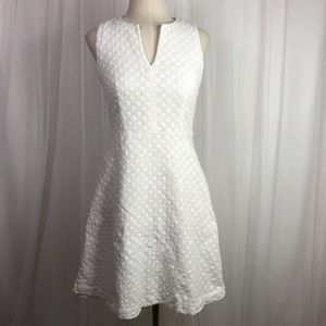 Theory Eyelet Sleeveless Dress Size 2